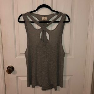 Pins and Needles strappy tank top